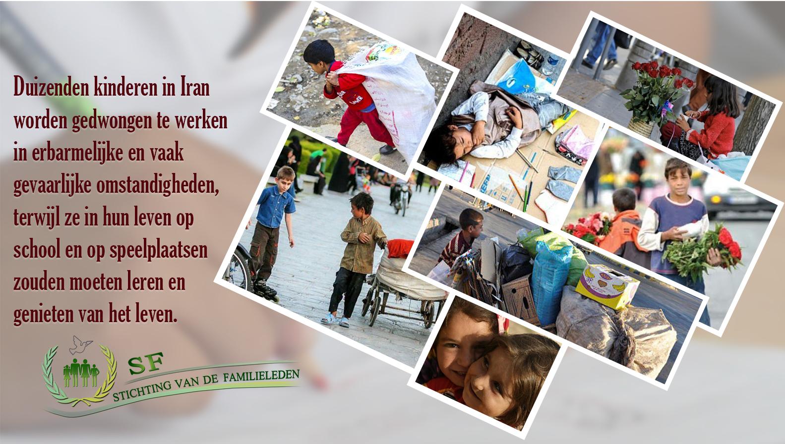 Kinderen in Iran, Children in Iran, stichting van de familieleden